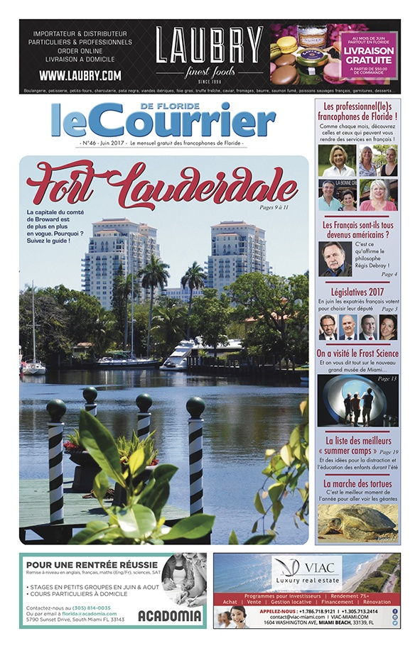Le Courrier de Floride / Juin 2017