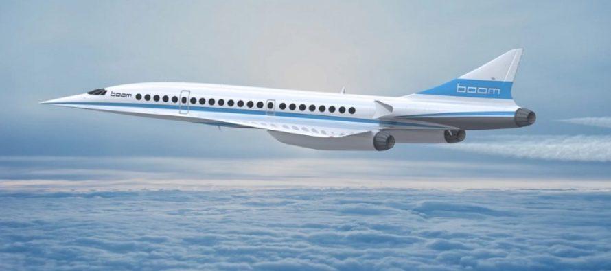 Le successeur du Concorde, «Boom», serait mis en service dès 2020