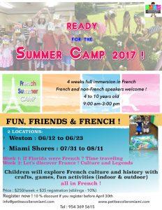 Camps d'été de l'APEM (Association Petits Ecoliers de Miami)