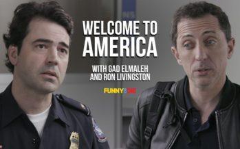 Gad Elmaleh vous apprend comment passer sans histoire la frontière américaine (vidéo)