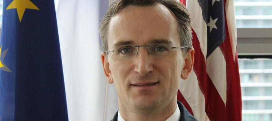Mot d'accueil du consul de France, Clément Leclerc, aux nouveaux arrivants en Floride