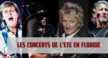 Les Concerts de l'été à Miami et en Floride / Juillet-Août 2017