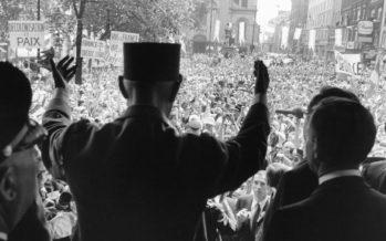 «Vive le Québec Libre» (de Gaulle), c'était il y a 50 ans à Montréal