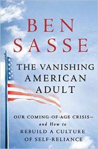 The Vanishing American Adult (livre du sénateur Ben Sasse)