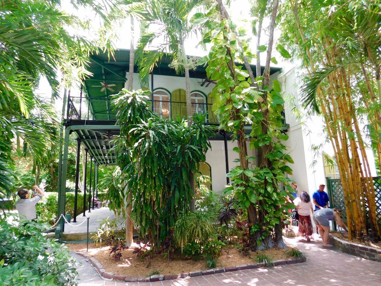 Hemingway House Key West 4879 Le Courrier De Floride