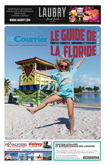 Couverture Guide de la Floride 2017-2018