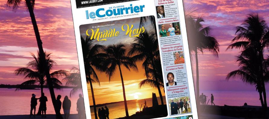 Le Courrier de Floride de Septembre 2017 est sorti !