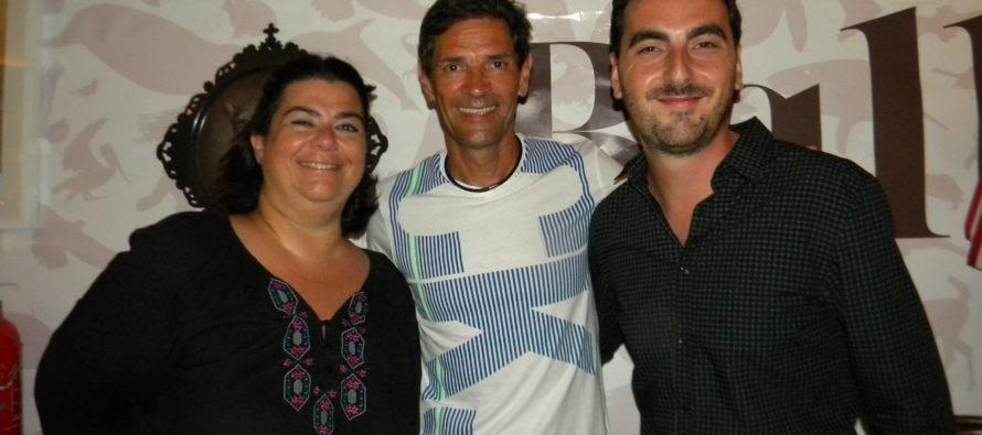 Bernard Thomasson est venu présenter son roman à Miami (photos)