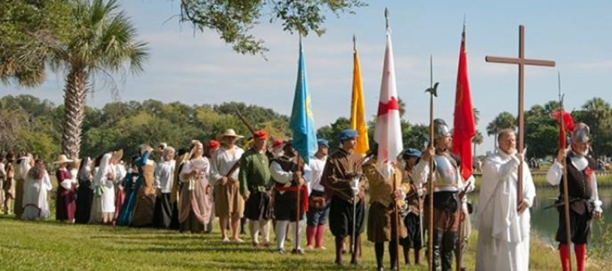 St Augustine fête son « Founders Day » en septembre !