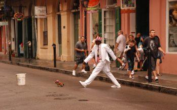 Le mime «Uncle Louie» accusé de meurtre en Floride