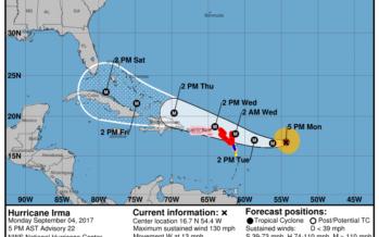 Ouragan Irma : les Antilles menacées