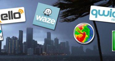 Les applications mobiles qui vous seront utiles en cas d'ouragan