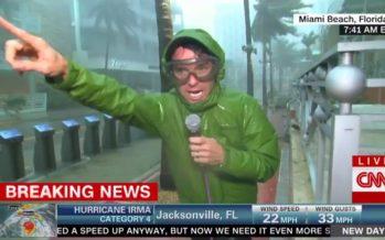 Comme un ouragan qui soufflait sur moi (éditorial du Courrier de Floride)