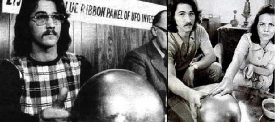La sphère «venue de l'espace» de la famille Betz (petite histoire de la Floride)