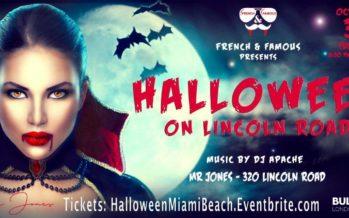 Halloween «French & Famous» à Miami Beach (au club «Mr Jones»)