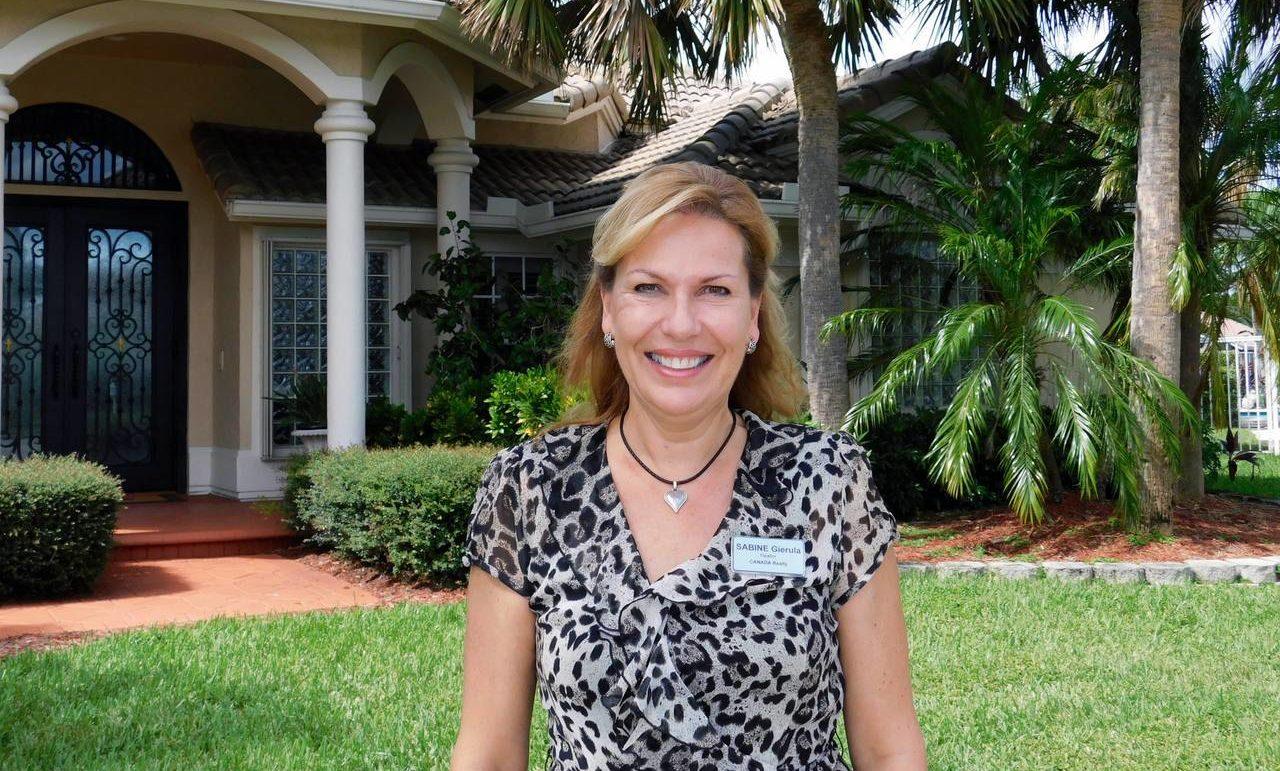 Sabine Gierula, courtier immobilier (agent immobilier) sur les comtés de Broward et Palm Beach en Floride
