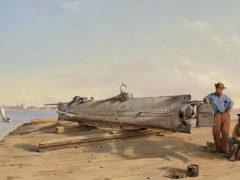 La disparition du premier sous-marin militaire américain élucidée