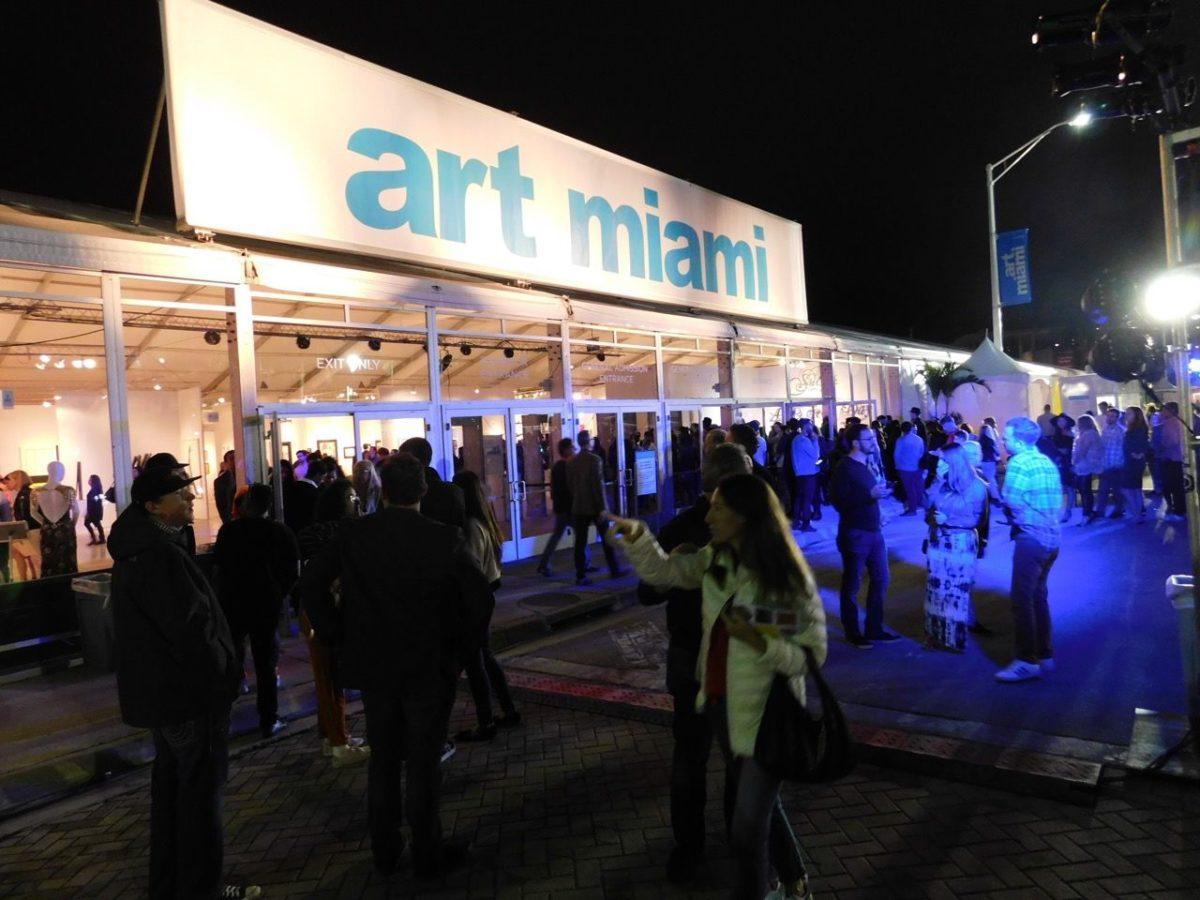 Photos de l'expo Art Miami 2017