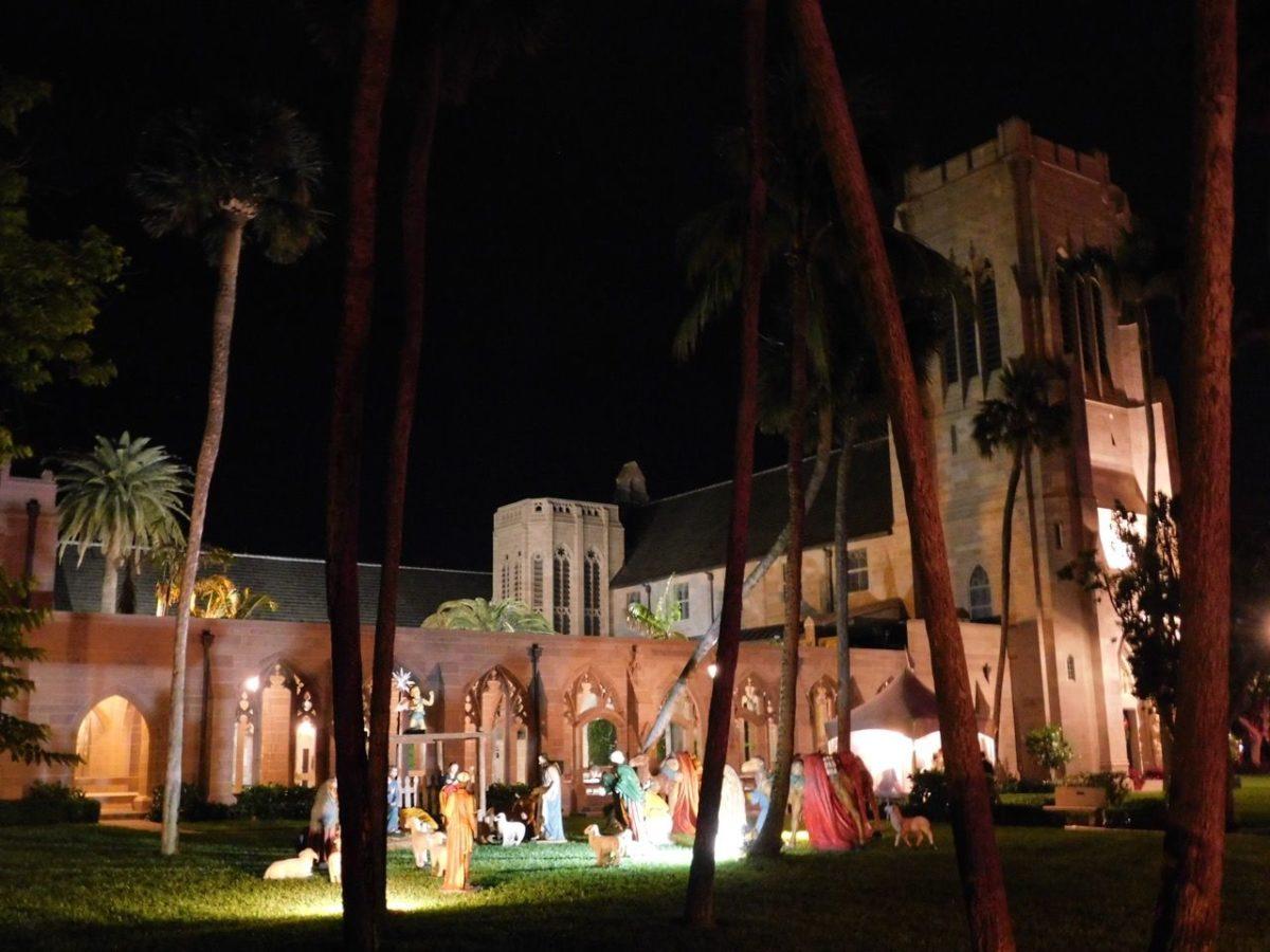 Les décorations de Noël à Palm Beach