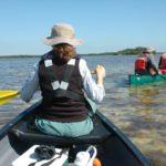 Canoë dans le Jones Lagoon