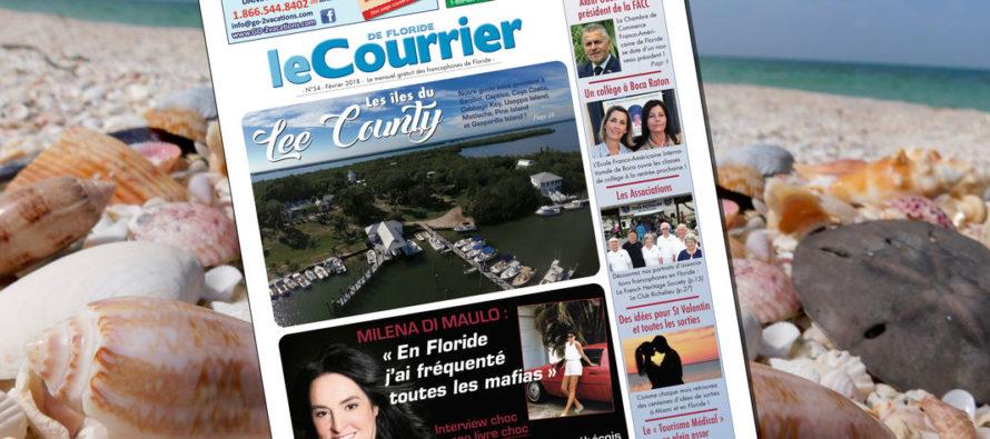 Le Courrier de Floride de Février 2018 est sorti !