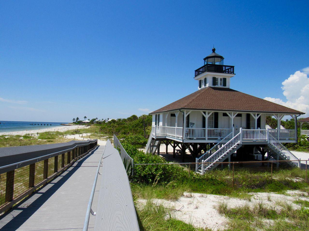 Le phare de Boca Grande, sur Gasparilla Island, sur la côte ouest de la Floride
