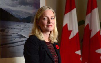 Miami : La ministre canadienne Catherine McKenna en visite pour parler ALENA et changement climatique
