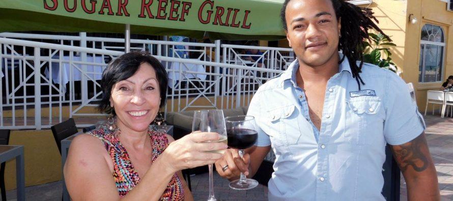 Enfin un restaurant français sur le broadwalk de Hollywood Floride : Le Sugar Reef !