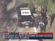 17 morts et 13 blessés après une fusillade dans une école de Parkland, près de Fort Lauderdale en Floride