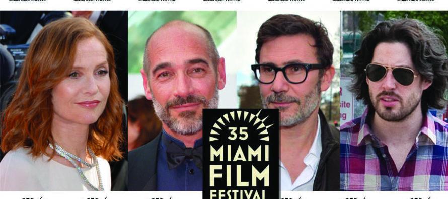Le Miami Film Festival accueillera Isabelle Huppert, Jean-Marc Barr, Michel Hazanavicius, Carlos Saura, Jason Reitman et bien d'autres