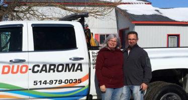 Pour le transport de matériel, fifthwheels, marchandises entre le Canada et les États-Unis (Floride) : Duo-Caroma