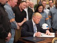 Acier et aluminium : Donald Trump rétablit les taxes douanières (et le protectionnisme)