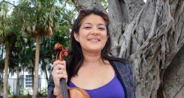 Miami : Anne Chicheportiche, une vie pour le violon !