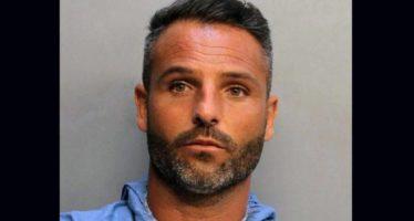 Le footballeur français Grégory Dutil arrêté à Miami à moitié nu, un couteau dans le slip et un verre de vin à la main !