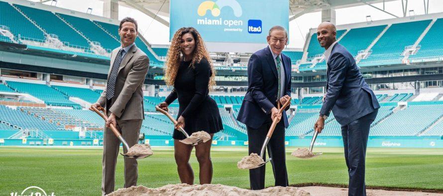 Découvrez le futur site du Miami Open de tennis au Hard Rock Stadium
