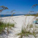 Plage à Boca Grande, sur Gasparilla Island, sur la côte ouest de la Floride