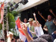 La finale de la Coupe du monde de football vue de Miami Beach : les photos !
