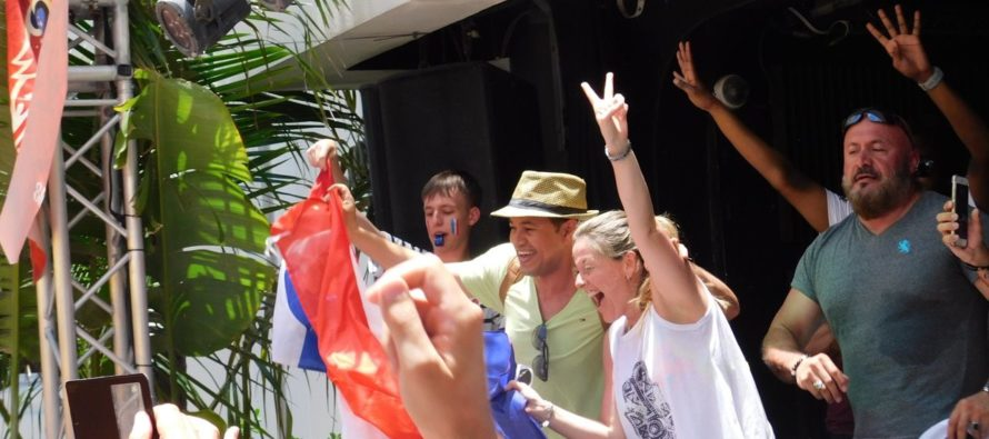 La finale de la Coupe du monde de football vue de Miami Beach : les photos !