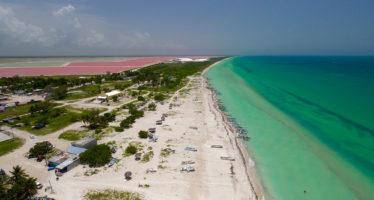 Las Coloradas, son lagon rose et ses plages époustouflantes (dans le Yucatán, au Mexique)