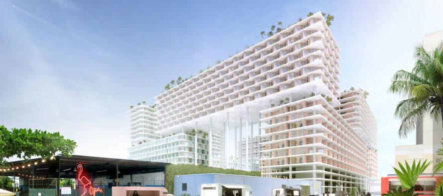 Miami : un quartier sur pilotis géants en projet à Allapattah