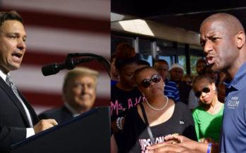 Election du gouverneur de Floride : ce sera Ron DeSantis contre Andrew Gillum