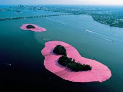 Expo sur les «îles entourées» par Christo et Jeanne-Claude à Miami