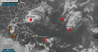 Un ouragan (Florence) et deux tempêtes dangereuses approchent des Amériques