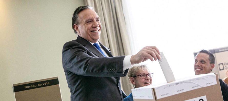La CAQ et François Legault prennent le pouvoir au Québec