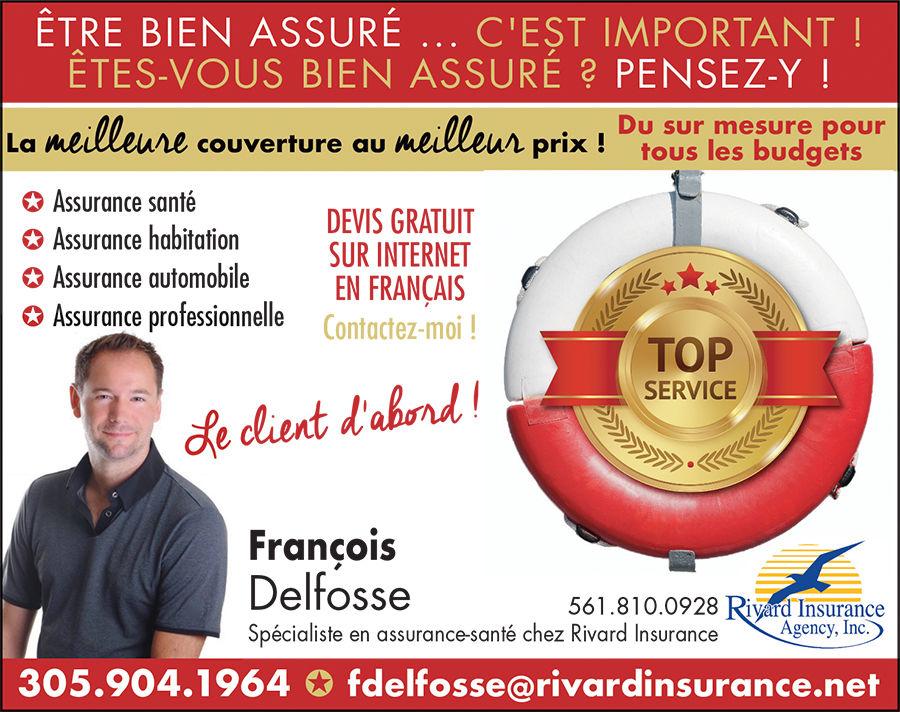 François Delfosse assureur à Miami et en Floride