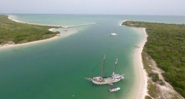 Rio Lagartos et son magnifique lagon, dans le Yucatán au Mexique