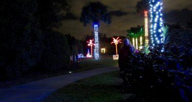 Les illuminations de Noël au Mounts Garden de West Palm Beach