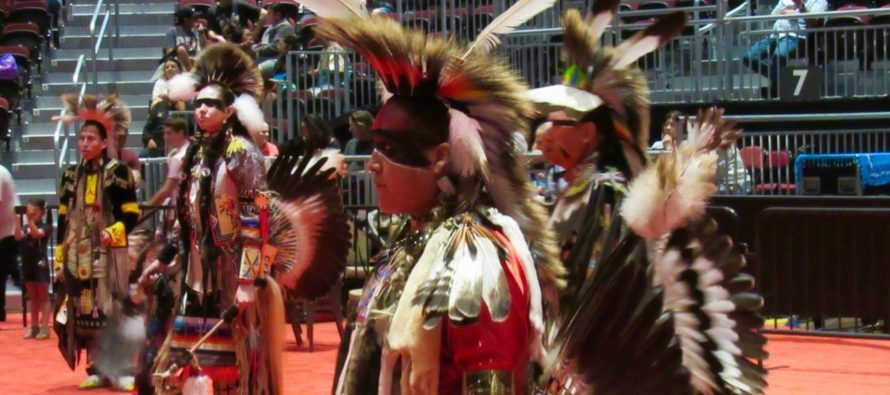 Pow wow des indiens seminoles de Floride au Hard Rock de Hollywood