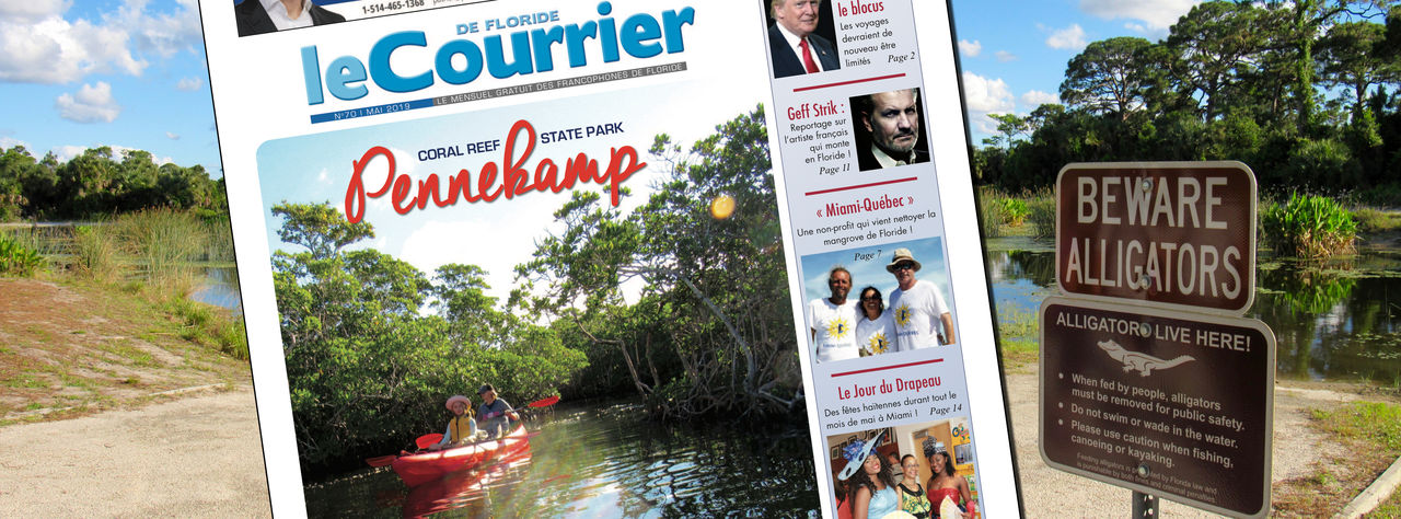 Photo of Le Courrier de Floride de Mai 2019 est sorti !