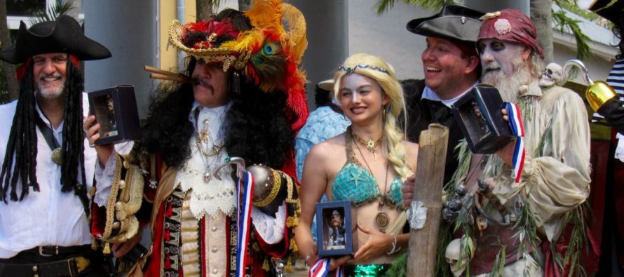 Le Pirate Festival de Fort Lauderdale c'est chaque année au mois d'avril